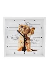 Часы настенные Собачка-ангел