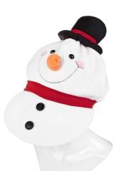 Кепка маскарадная для взрослых Снеговик