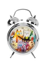 Часы настольные Ученые коты