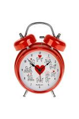 Часы настольные Комикс о любви