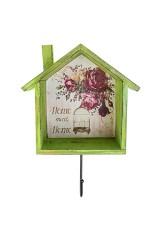 Вешалка декоративная Милый дом