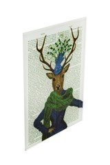 Репродукция Ожившие книги - Элегантная олениха