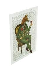 Репродукция Ожившие книги - Элегантный лис