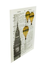 Репродукция Ожившие книги - Полет над Лондоном
