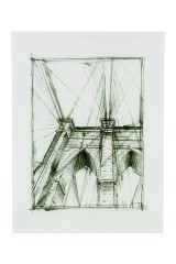 Репродукция Графика - Бруклинский мост