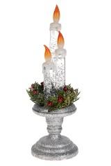 Украшение для интерьера светящееся Три свечи
