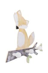 Вешалка декоративная Лисенок