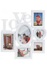 Рамка для 6-ти фото Любовь