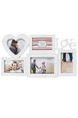 Рамка для 5-ти фото Любовь