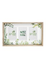 Рамка для 3-х фото Нежность листвы