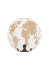 Вешалка декоративная Карта мира