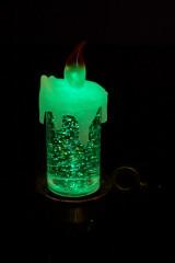 Украшение для интерьера светящ. Свеча
