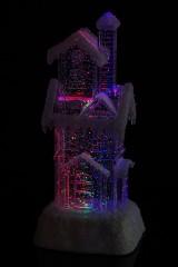 Украшение для интерьера светящееся Заснеженный дом