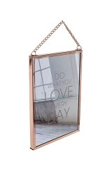 Зеркало настенное Делай то, что любишь