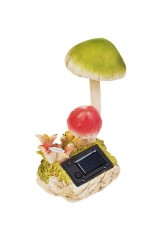 Фигурка садовая Яркие грибы