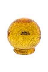 Украшение для интерьера светящееся Золотой шар