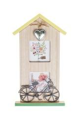 Рамка для 2-х фото Дом цветочницы