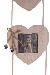Рамка для 3-х фото Сердца