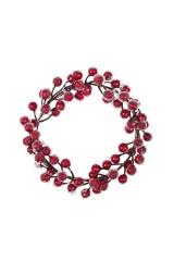 Украшение для интерьера Венок - Зимние ягоды