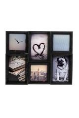 Рамка для 6-ти фото Любимые моменты