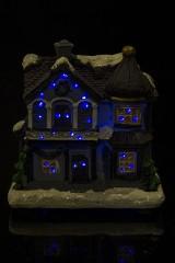 Украшение для интерьера светящееся Новогодний домик