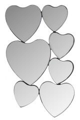 Зеркало настенное Сердца