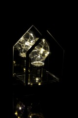 Украшение для интерьера светящееся Дом