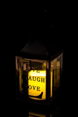 Украшение для интерьера светящееся Лампа