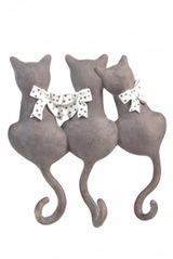 Вешалка декоративная Котики с бантиками