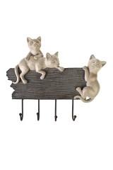 Вешалка декоративная Дружелюбные котики