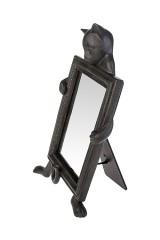 Зеркало настольное Любопытный котик