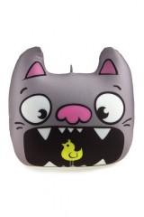 Подушка декоративная Кот с птичкой
