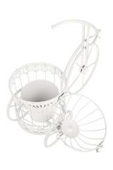 Кашпо садовое Велосипед с клеткой