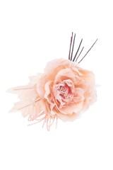 Цветок декоративный Заснеженная роза