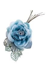 Цветок декоративный Голубая роза