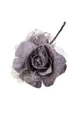 Цветок декоративный Зимняя роза