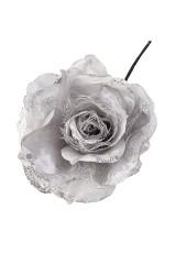 Цветок декоративный Серебряная роза
