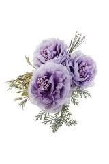 Цветок декоративный Нежные пионы