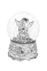 Шар со снегом Задумчивый ангел