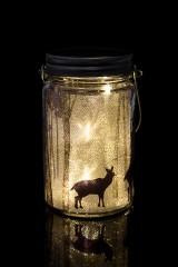 Украшение для интерьера светящееся Зимний лес