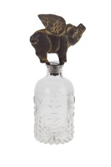 Бутылка декоративная Окрыленная хрюша