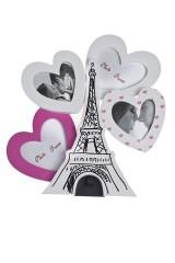 Рамка для 4-х фото Париж в наших сердцах