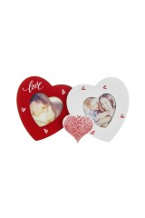 Рамка для 2-х фото Любящие сердца