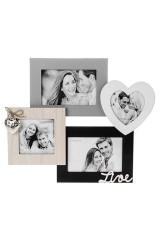 Рамка для 4-х фото Наша любовь