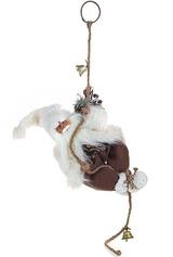 Украшение для интерьера Дед Мороз на веревке