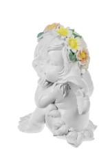 Фигурка садовая Ангел-мечтатель
