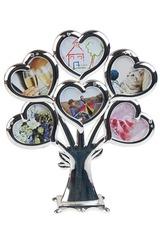 Рамка для 6-ти фото Дерево сердец