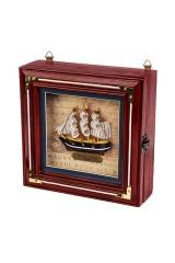 Ящик для ключей Великий мореплаватель