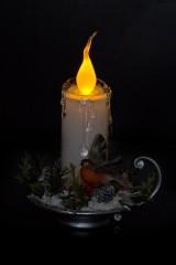 Украшение для интерьера светящееся Волшебная свеча