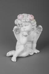 Фигурка садовая Воздушный поцелуй амура